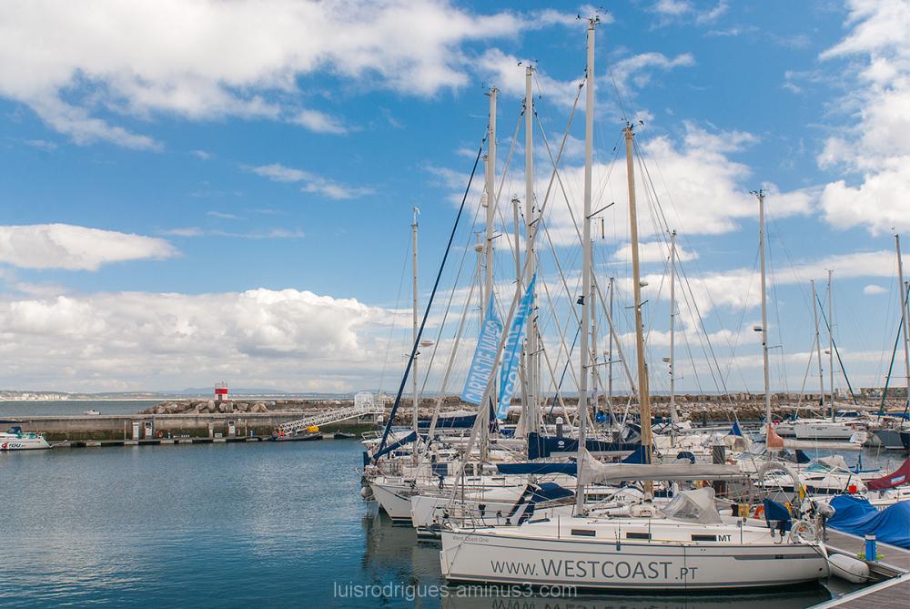 Boat Oeiras Portugal Marina