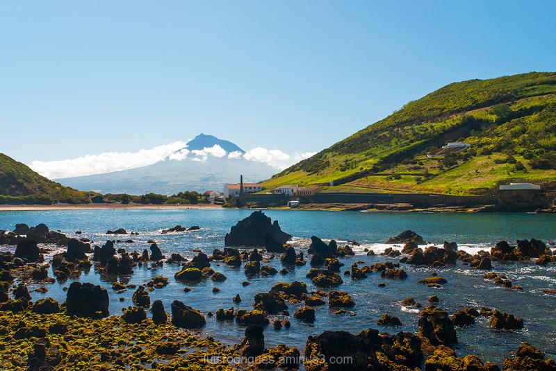 Azores Faial Pico Island Ilha Açores Portugal