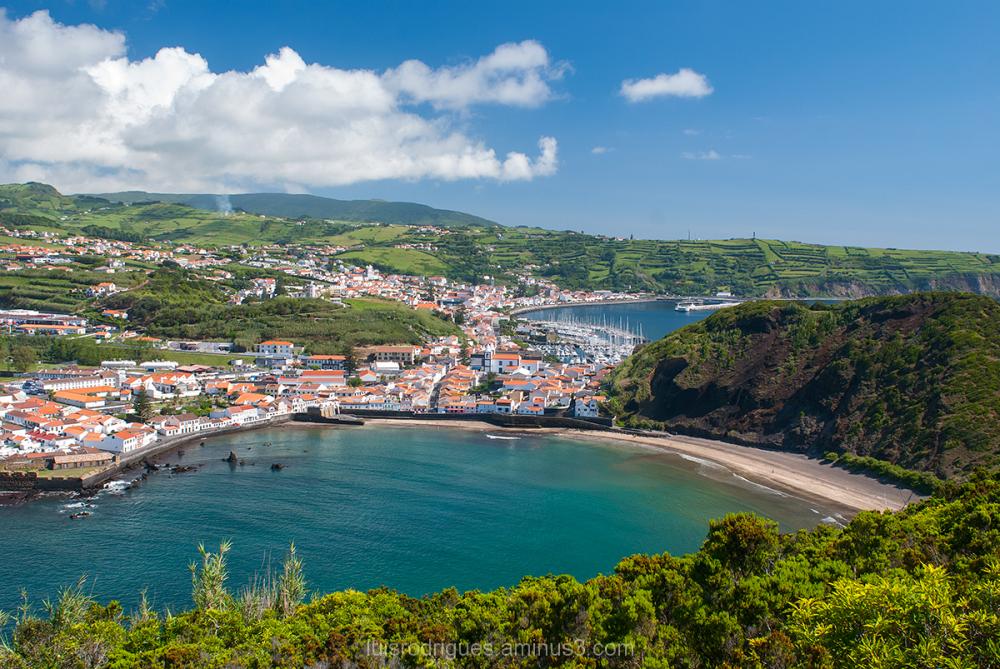 Azores Faial Horta Porto Pim Island Ilha Açores Po