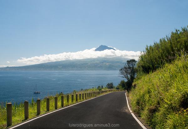 Azores Faial Pico Island Ilha Açores Portugal Mont