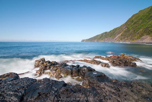 Baia das Cabras Praia da Fajã Faial Azores