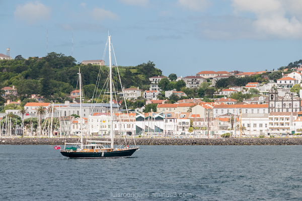 Faial Boat Azores Portugal Açores