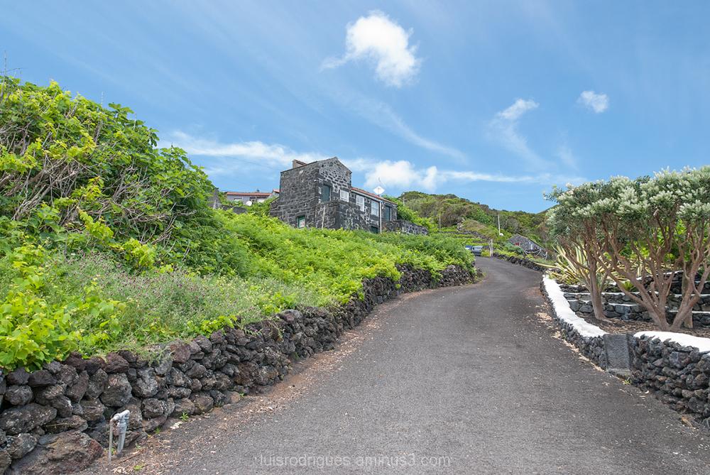 Pico Azores Portugal House Road