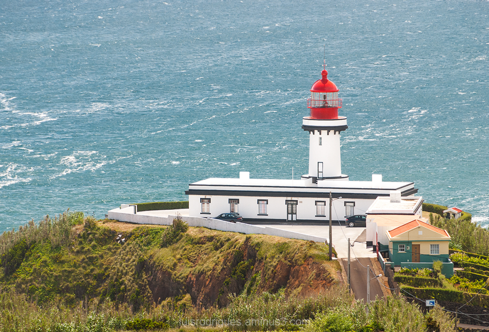 Azores São Jorge Island Portugal Lighthouse