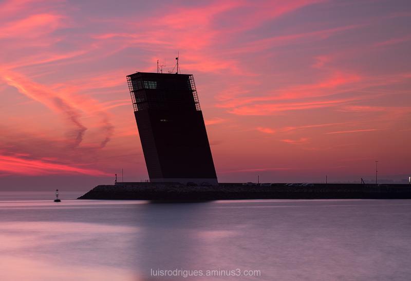Algés Portugal Sunset