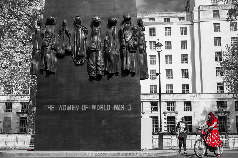 The Women of World War II London