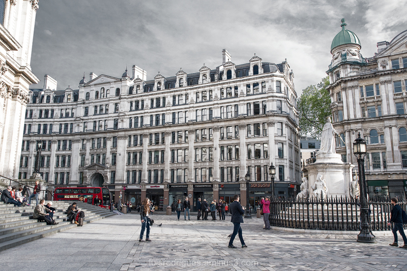 London Buildings Streets