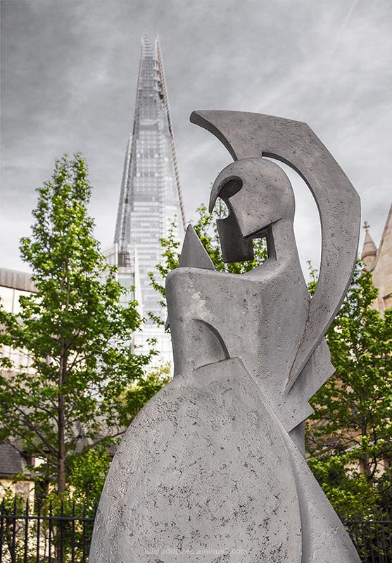 London Shard Statue