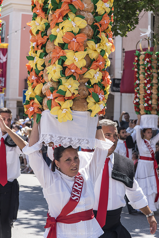Festa dos Tabuleiros Tomar Portugal