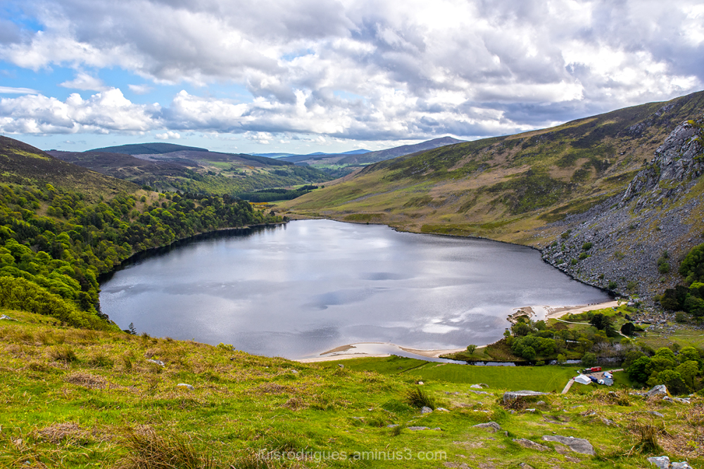 Wicklow Ireland Water Lough Tay