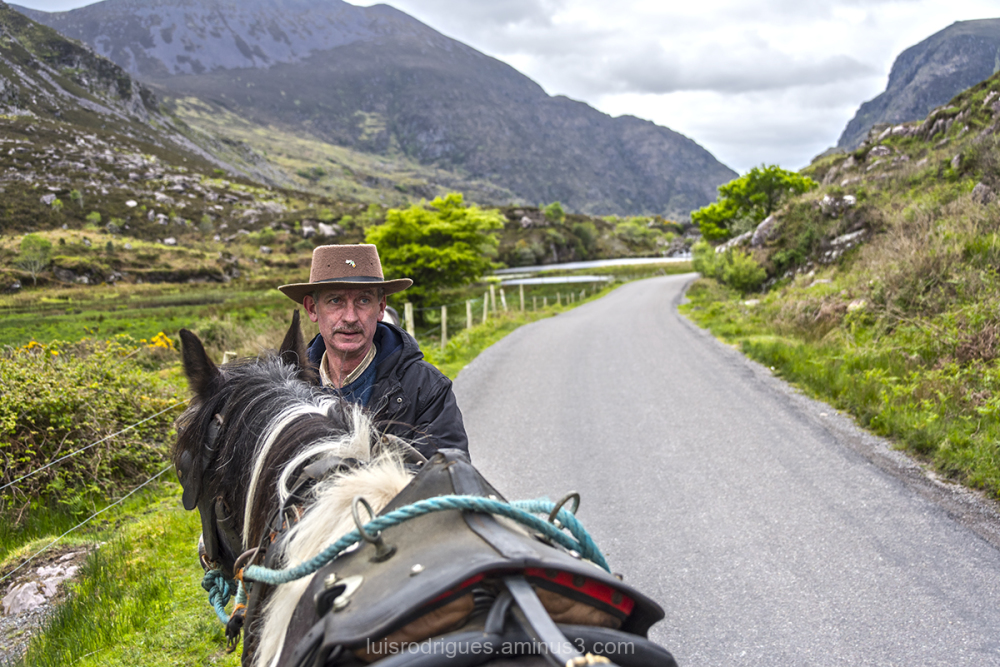 molls gap Ring kerry Ireland horseman