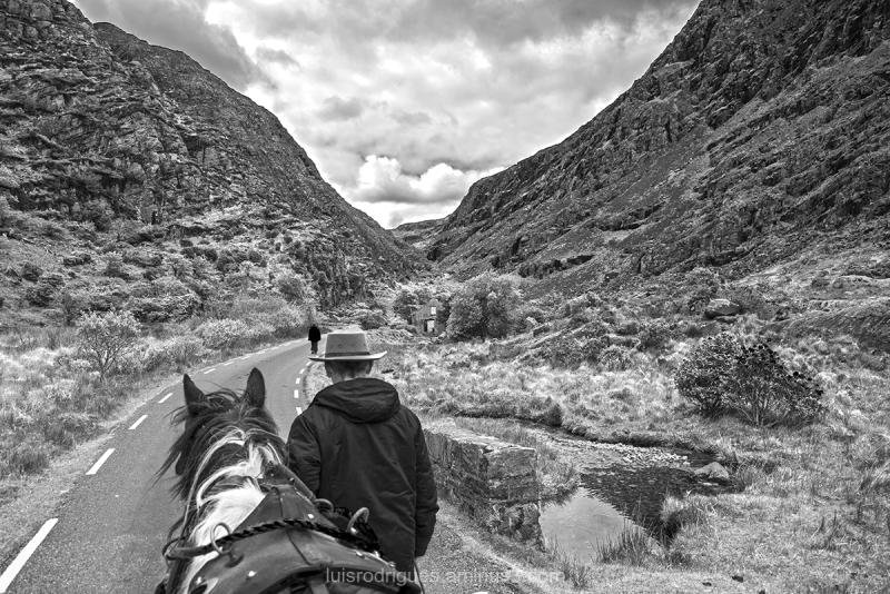 molls gap Ring kerry Ireland horseman
