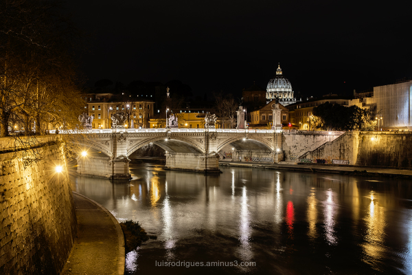 Rome At Night Vatican