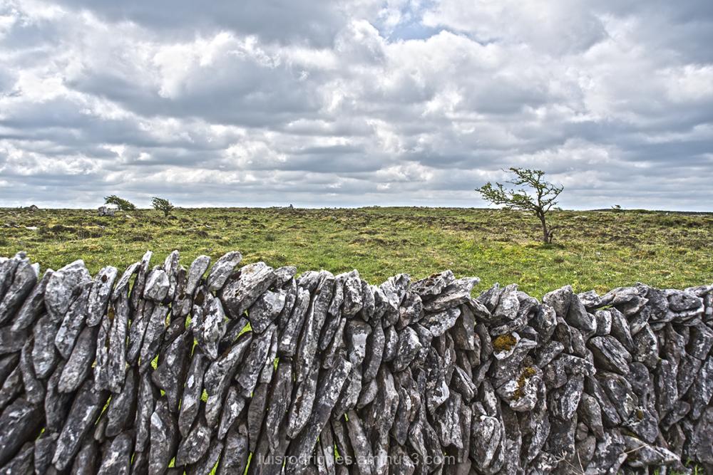 Dry stone wall Ireland