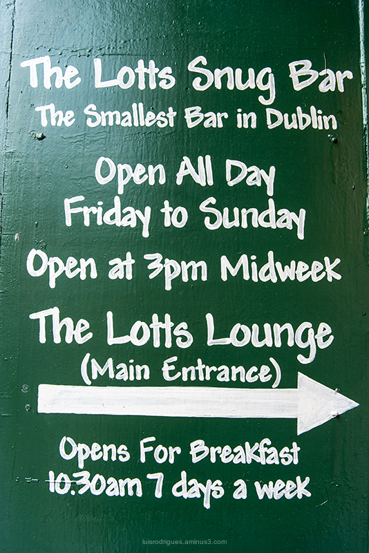 The Lotts Snug Bar Dublin