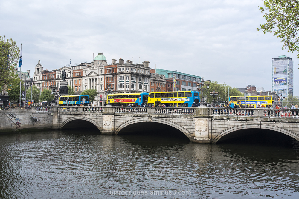 Dublin Yellow Bus
