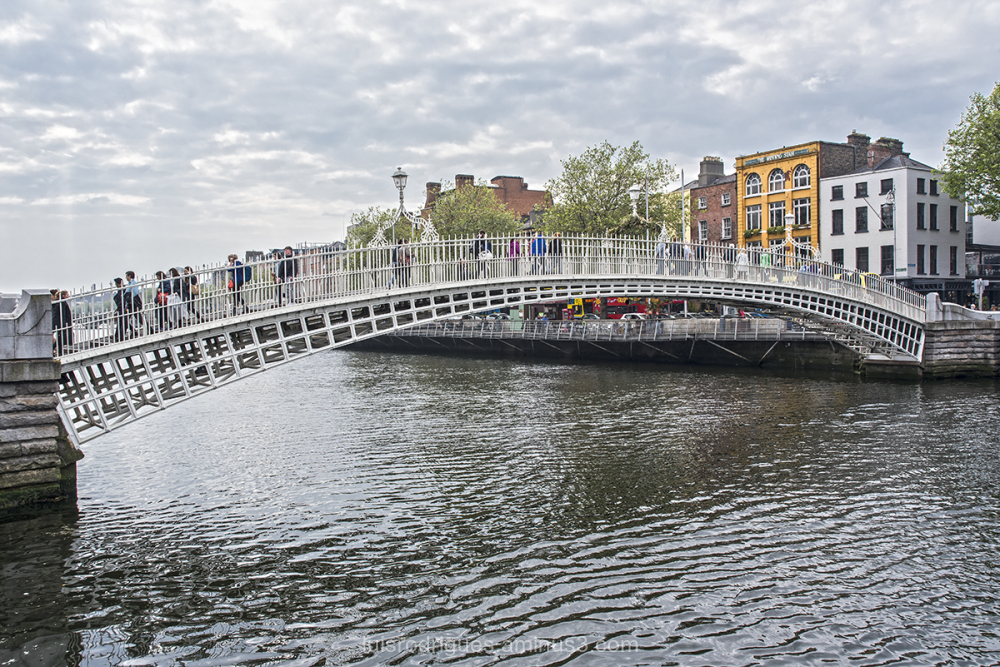 Dublin Bridge Ha'penny Bridge