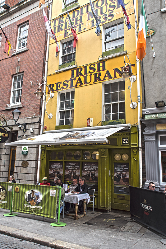Dublin Cityscape Irish Restaurant