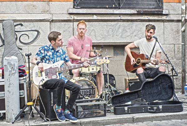 Dublin Street Art Music