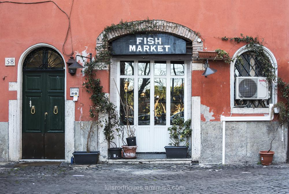 Rome Fish Market