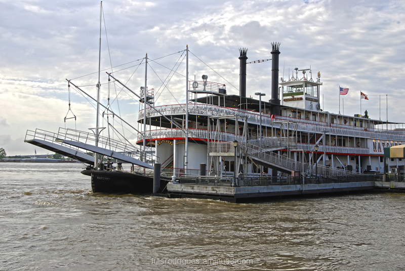 New Orleans US Mississippi River