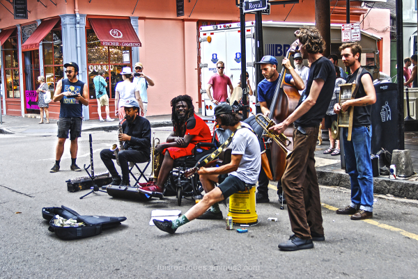 New Orleans US Street Musicians