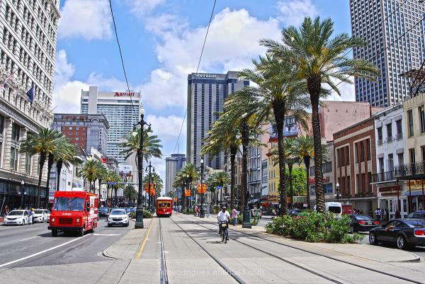 New Orleans US Canal Street