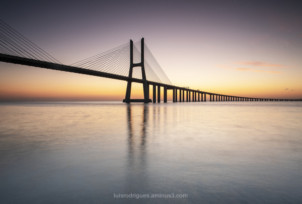 Lisbon Portugal Vasco da Gama Bridge