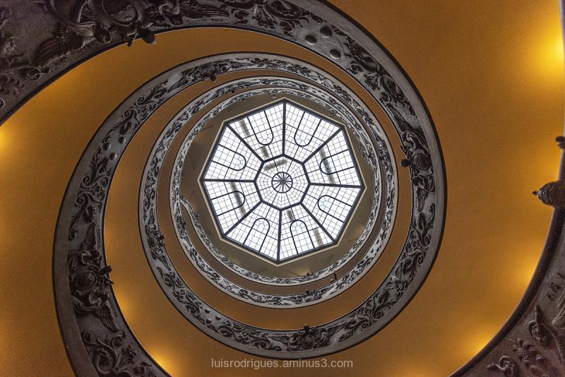 Bramante Staircase Vatican Rome
