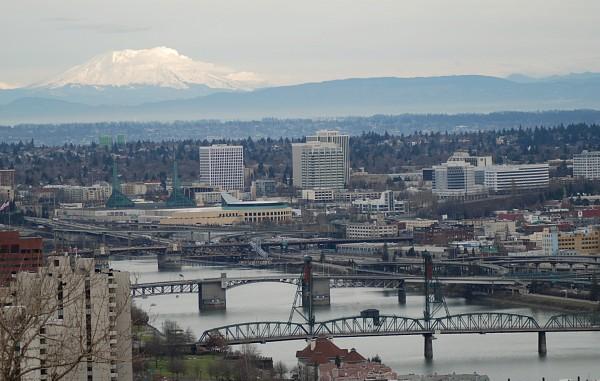 Mount St. Helens & Downtown Portland