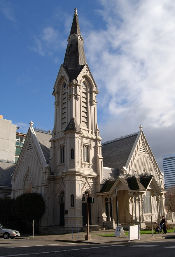 The Old Church - Circa 1883 Portland
