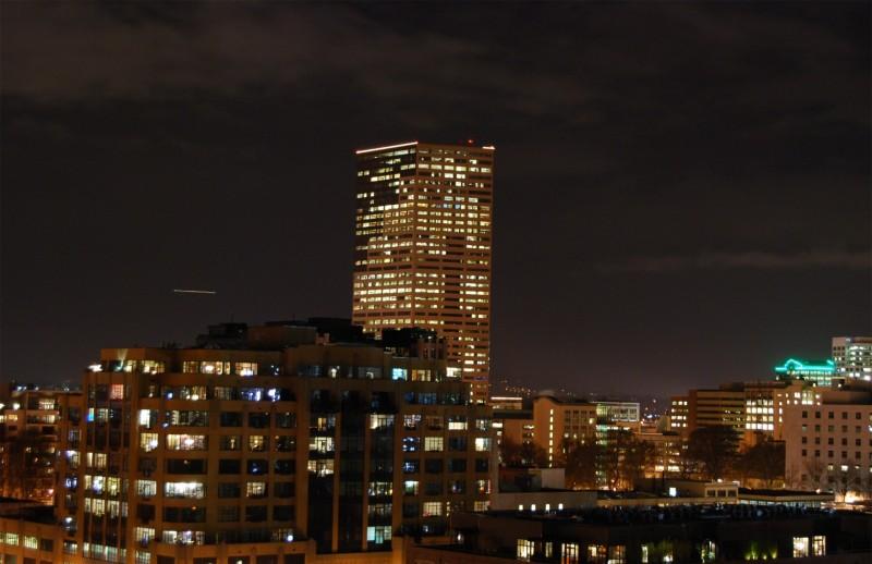 Portland Pearl District Night Photo