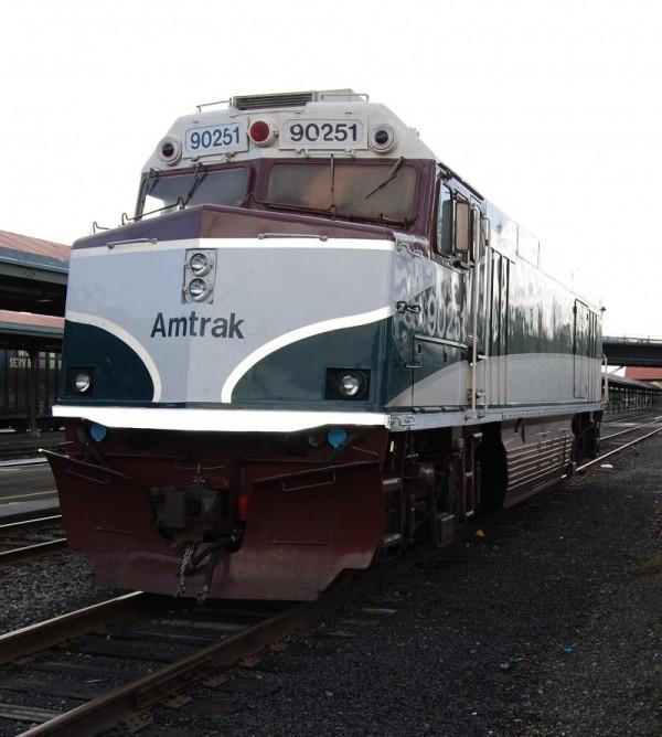 amtrak train portland