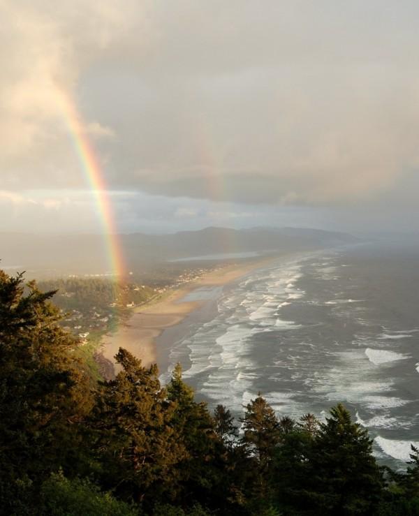 Oregon Coast Rainbows