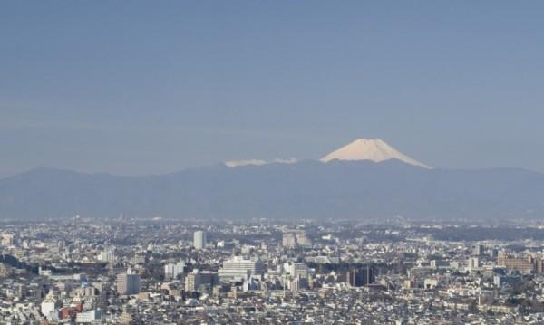 Fuji-san from Tokyo