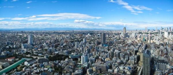 Tokyo from Ebisu Garden Place