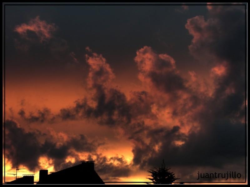 Burning Sunset HDR-02