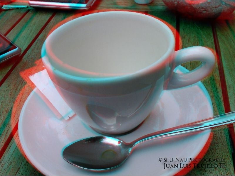 Empty cup... in 3D