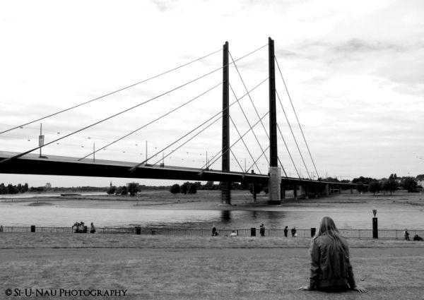 Staring at the bridge...