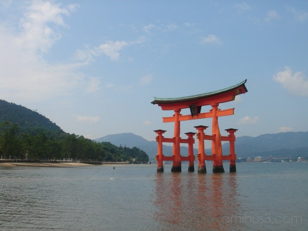 Ootori at Miyajima