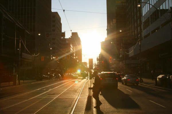 Toronto in the Golden Hour...