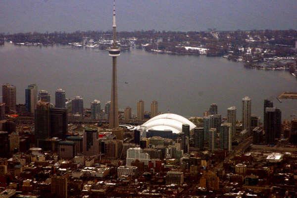 Arriving in Toronto