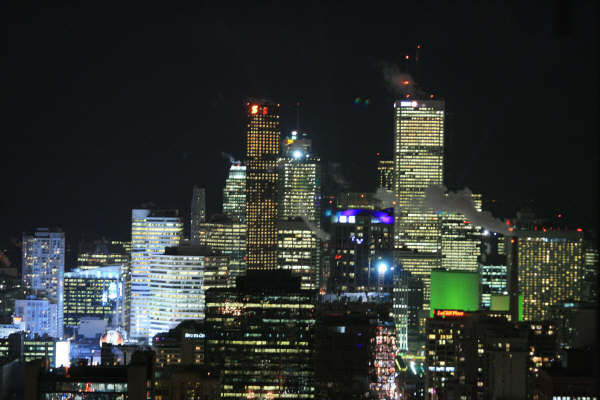 Downtown Toronto from Panorama