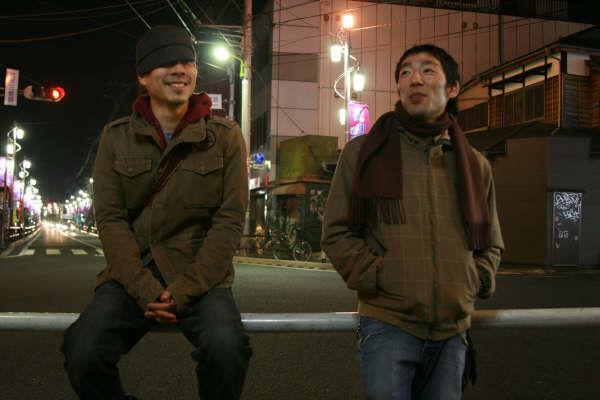 Chilling in Shimokatazawa