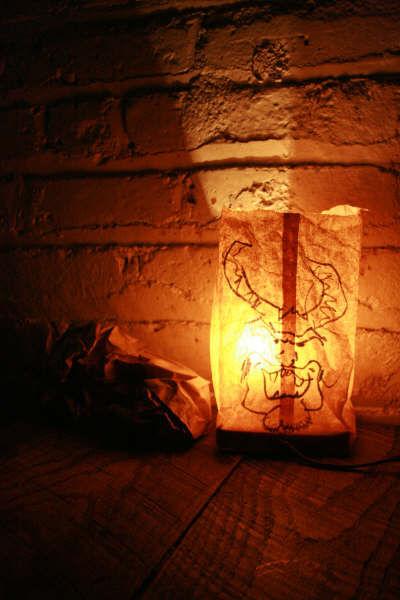 Ghetto lamp