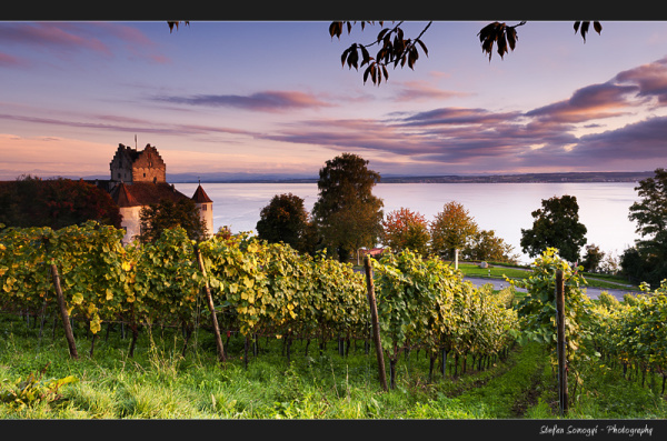 Meersburg, Lake the Constance, Germany