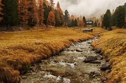 Autumn in the alps VI