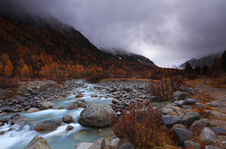 Autumn in the alps XIII