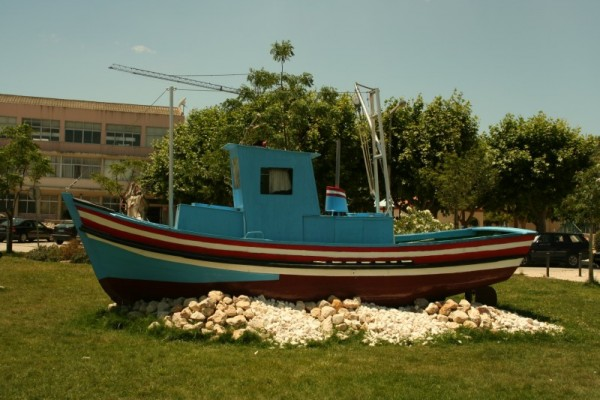 The Boat in The Land