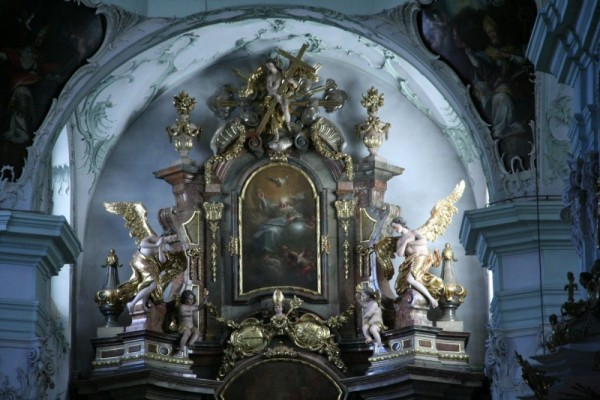 Detail of a church